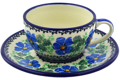 6 oz Cup with Saucer - 1915X | Polish Pottery House