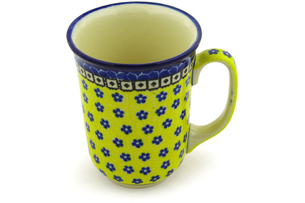 16 oz Mug - Blue Sunshine | Polish Pottery House