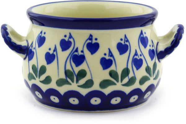 11 oz Soup Cup - Blue Bell | Polish Pottery House
