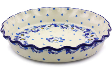 "10"" Fluted Pie Plate - P9030A 