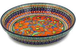 "10"" Pie Plate - Poppies 