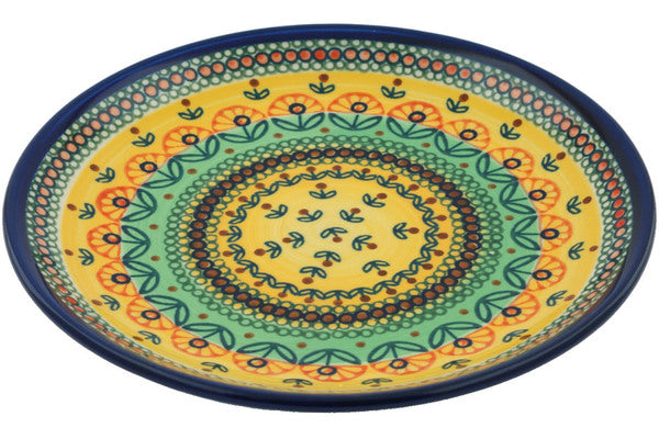 "8"" Salad Plate - Folk Art 