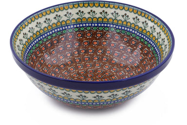 14 cup Serving Bowl - Desert Sun | Polish Pottery House