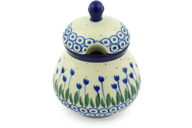 7 oz Sugar Bowl - 490AX | Polish Pottery House
