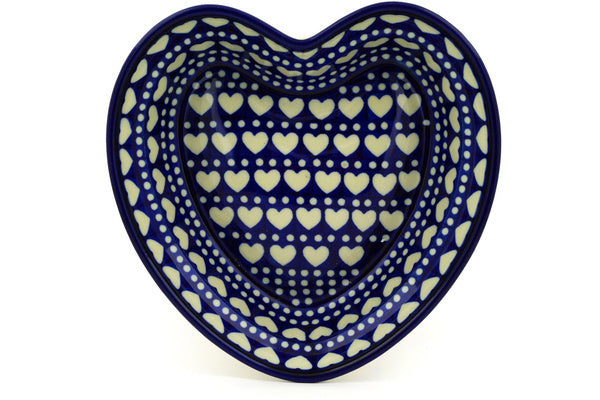"8"" Heart Bowl - Hearts 