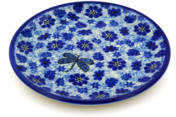 "6"" Bread Plate - Dragonfly 