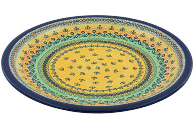 "11"" Dinner Plate - Folk Art 