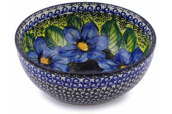 4 cup Serving Bowl - P5703A | Polish Pottery House
