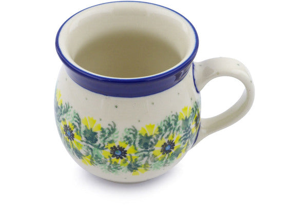 8 oz Bubble Mug - 86AX | Polish Pottery House