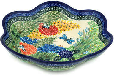 6 cup Serving Bowl - Whimsical | Polish Pottery House