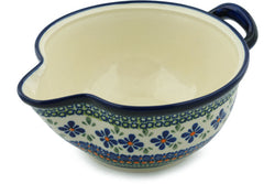 "8"" Batter Bowl - Emerald Mosaic 