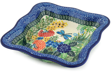 3 cup Serving Bowl - Whimsical | Polish Pottery House