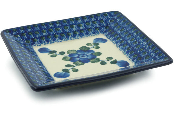 "6"" Square Bread Plate - Heritage 