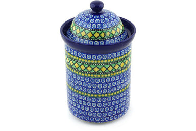 8 cup Canister - U323 | Polish Pottery House