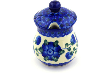 5 oz Sugar Bowl - Heritage | Polish Pottery House