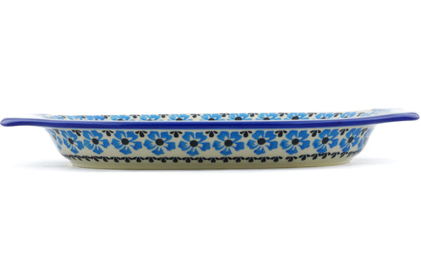 "12"" Platter with Handles - P9315A 