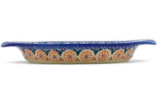 "9"" Platter with Handles - D2 