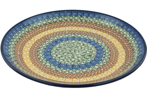 "11"" Dinner Plate - Blue Autumn 