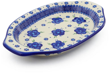 "12"" Platter with Handles - D1 