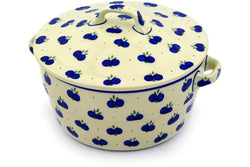 9 cup Covered Baker with Handles - 67AX | Polish Pottery House