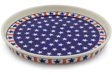 "9"" Cookie Platter - Americana 