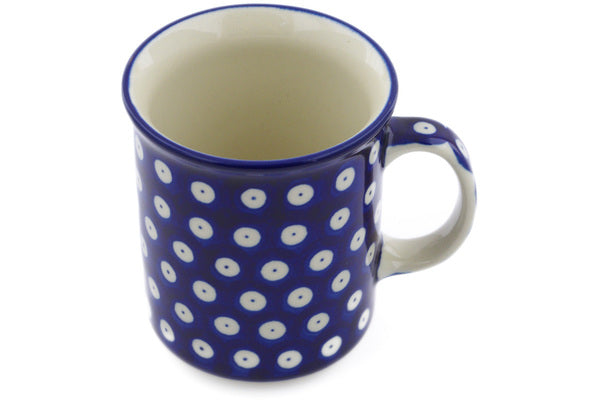 10 oz Mug - Polka Dot | Polish Pottery House