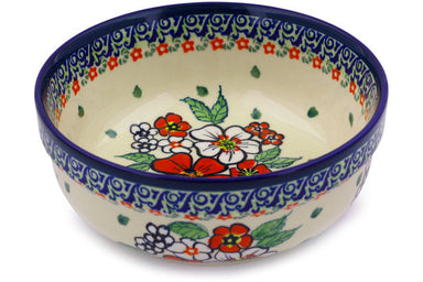 21 oz Cereal Bowl - Oriental Blossom | Polish Pottery House