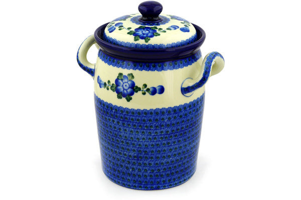 19 cup Canister - Heritage | Polish Pottery House