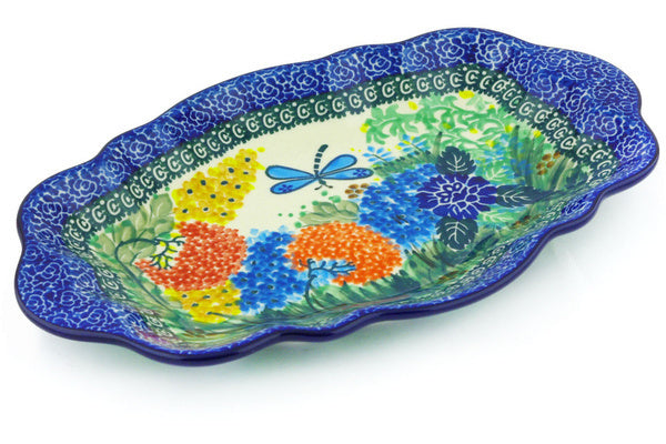 "11"" Platter - Whimsical 