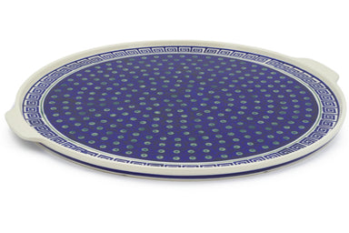 "16"" Pizza Plate - Greek Key 