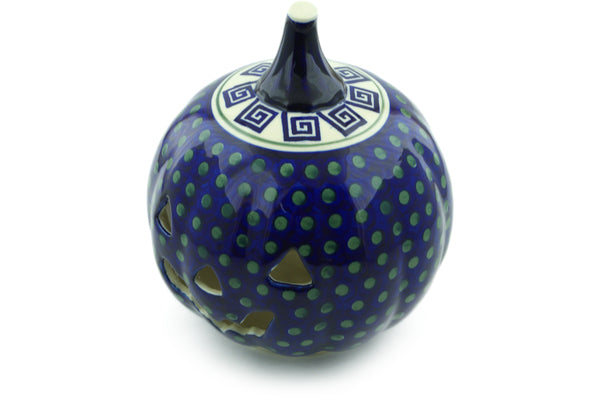 "9"" Jack O Lantern Candle Holder - 137 