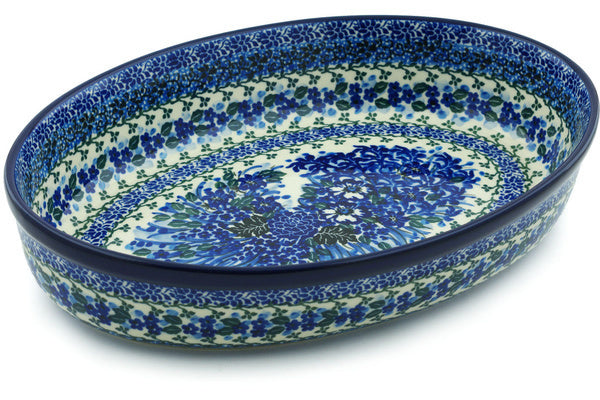 "12"" Oval Baker - P8798A 