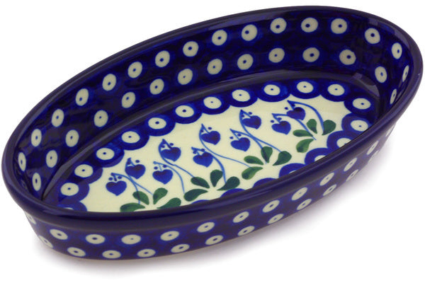 "9"" Oval Baker - Blue Bell 
