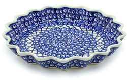 "11"" Fluted Pie Plate - 102 