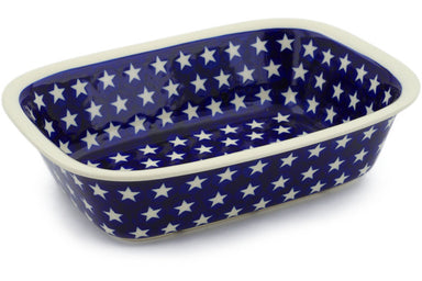 "7"" x 10"" Rectangular Baker - Stars 