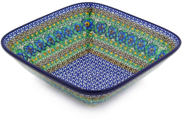 8 cup Serving Bowl - Moonlight Blossom | Polish Pottery House