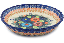 "10"" Fluted Pie Plate - D86 