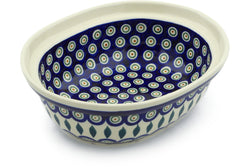 "8"" Serving Bowl - Peacock 