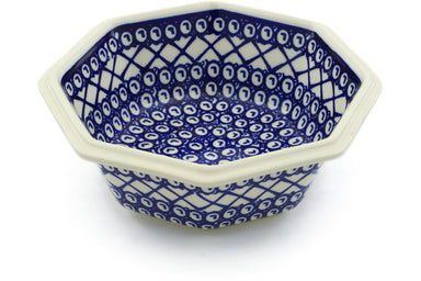 4 cup Octagonal Bowl - 102 | Polish Pottery House