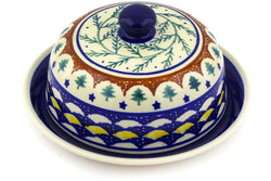 "8"" Covered Baker - Evergreen 