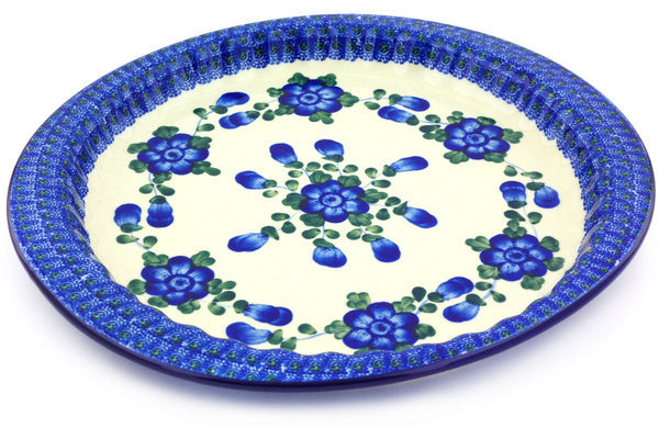 "13"" Fluted Oval Platter - Heritage 