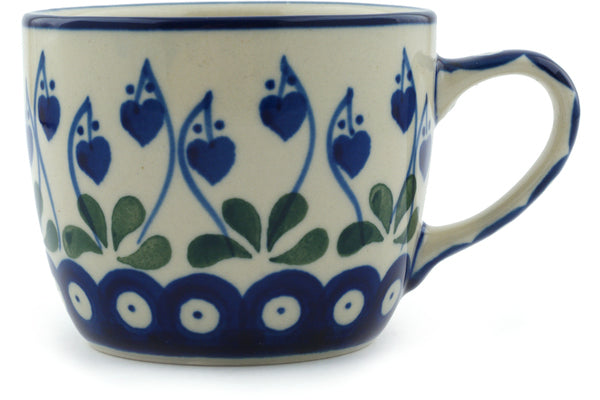 6 oz Cup - Blue Bell | Polish Pottery House