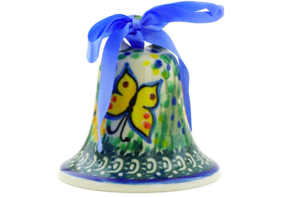 "3"" Bell Ornament - Spring Garden 