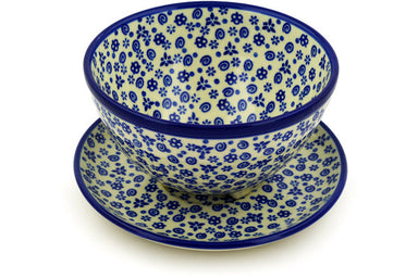 "8"" Colander with Plate - Confetti 