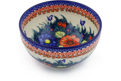 6 cup Serving Bowl - D86 | Polish Pottery House