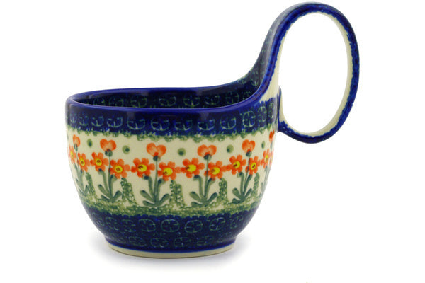 16 oz Soup Cup with Handle - 560X | Polish Pottery House