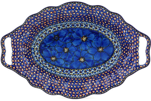 "14"" Platter with Handles - Fiolek 