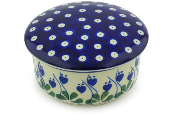 "2"" Round Box - Blue Bell 