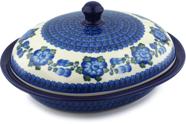 6 cup Covered Baker - Heritage | Polish Pottery House