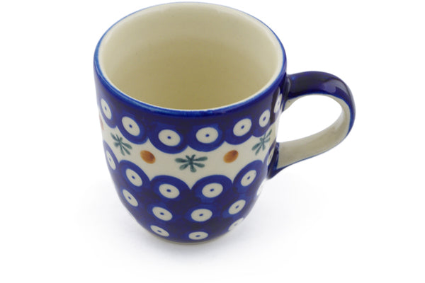 10 oz Mug - Blue Old Poland | Polish Pottery House